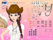 Texan Beauty Dressup game