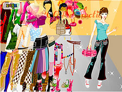 Play About Color Tops Dress Up game online Y8