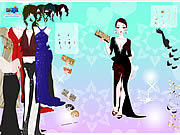 Permainan Gown Purse Dress Up