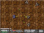 Play Shining metal defender Game
