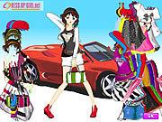 Play Car girl fashion Game