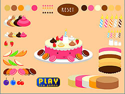 Dress The Cake game