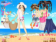 Bikini Dress Up game