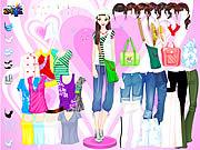 Permainan Colorful Shirts Dress Up
