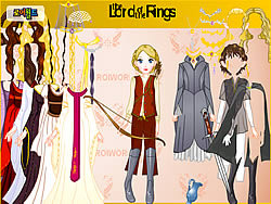 Lord Of The Rings Dress Up game