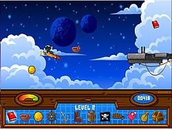 Treasure Planet - Solar Surfer game