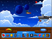 Treasure Planet - Solar Surfer game