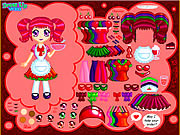 Cherry Soda Dress Up game