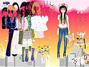 Play Mystery date dress up Game