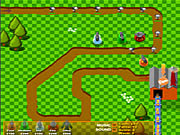Fanta Factory Defender game