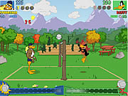 Tricky Duck Volleyball game