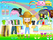 Cutie Doll Dress Up game