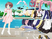 Anime Cutie Dressup game
