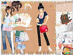 Shopping Girl 4 Dress Up game