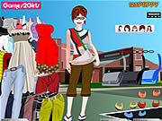 Jogar jogo grátis Jessica College Girl Dressup