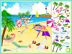 Sea Side Decoration game