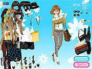Play Leopard print fashion Game
