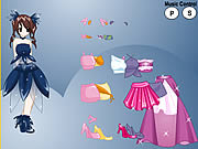 Princess Anime Dress Up game
