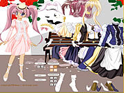 Lady Anime Dress Up game
