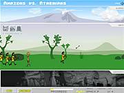 Amazons Vs. Athenians game