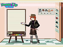 Artist Fashion Dress Up game