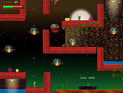 Alien UFO game