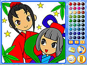 juego Manga Mania Coloring
