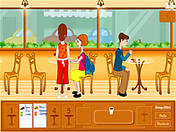 Cafe Waitress game