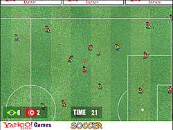 Japan Soccer game