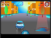 Orange Josh in Crazy Rides game