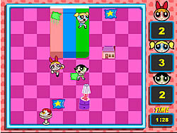 Powerpuff Girls - Pillow Fight game