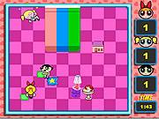 Play Powerpuff girls pillow fight Game