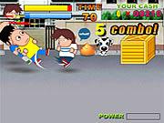 High School Backstreet Fighter game