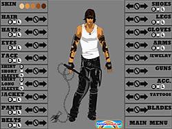 Action Hero Creator game