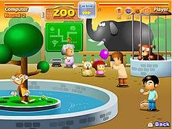 Funny Zoo game