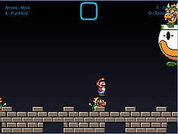 Super Mario World - Bowser Battle game