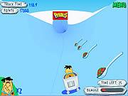Play Flinstones bobsleigh Game