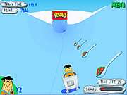 Flinstones Bobsleigh game