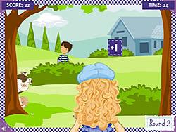 Holly Hobbie: Water Balloon Blast game