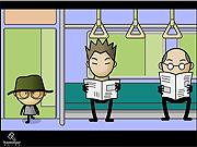 Watch free cartoon Mr. Boomba Episode 5 - Subway