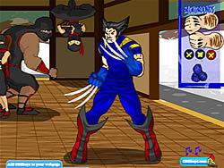 Wolverine Customization game