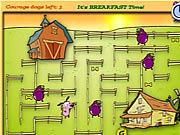 Meal Time Maze game