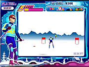 Snowboard Sprint game