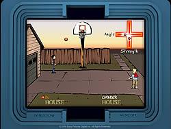 DJ and Chowder in H.O.U.S.E. game