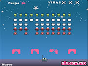 Play Mau cat invaders Game