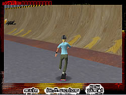Thrash N' Burn Skateboarding game