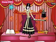 Play Aleina magic girl dressup Game